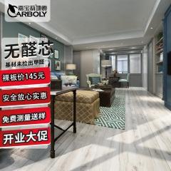 嘉宝莉强化复符合木地板环保无醛芯家用卧室灰色系工业风380 1220*200*11 380
